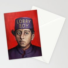 Lobby Boy / Grand Budapest Hotel / Wes Anderson Stationery Cards