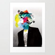 Clusters on mind #3 Art Print