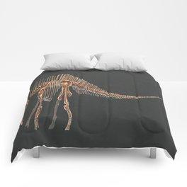 Amargasaurus Skeletal Study (No Labels) Comforters