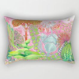 Succulent Love Rectangular Pillow