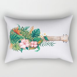 Tropical Ukulele Rectangular Pillow