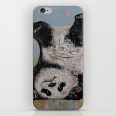 Panda Headstand iPhone & iPod Skin