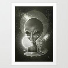 Alien II Art Print