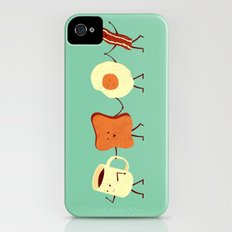 Let's All Go And Have Breakfast iPhone (4, 4s) Slim Case