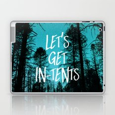 Lets Get In Tents Laptop & iPad Skin