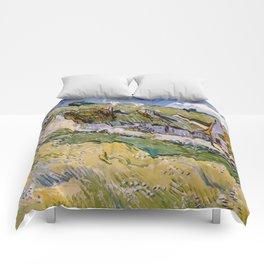 "Vincent van Gogh ""Cottages"" Comforters"