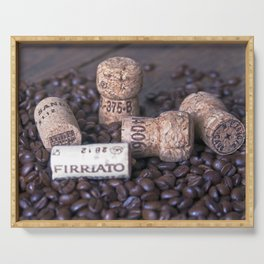 COFFEE & CORK Serving Tray