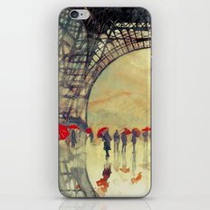 Winter in Paris iPhone & iPod Skin