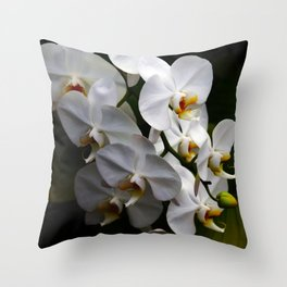 Orchid Perspective Throw Pillow