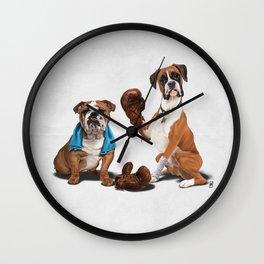 Raging (Wordless) Wall Clock