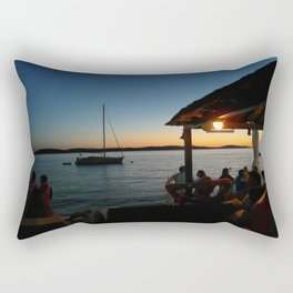 Croatian Sunset Rectangular Pillow