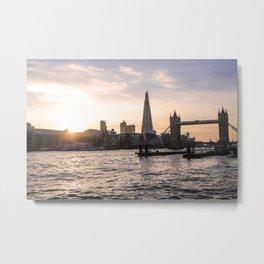 ArtWork London UK The Shard Photo Art Metal Print