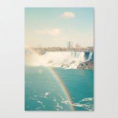 Niagara Falls - View of Buffalo, New York Canvas Print