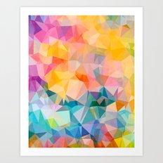 Polygons Art Print