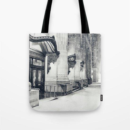 New York City Snow Globe Tote Bag