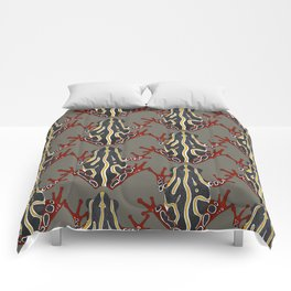 congo tree frog Comforters