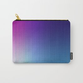 Fuchsia Blue Ombre Carry-All Pouch
