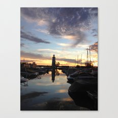 Sylvan Lake Lighthouse Canvas Print