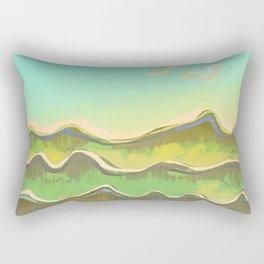 Magic Flight over the Sea of Clouds Rectangular Pillow