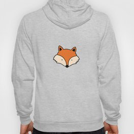 Simple red fox Hoody