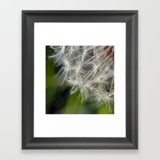 {wishing} Framed Art Print