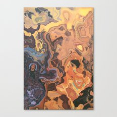 BURN TECHNOLOGY BURN Canvas Print