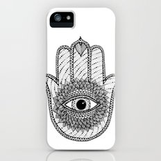 Hamsa white Slim Case iPhone (5, 5s)