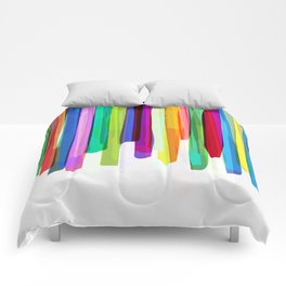 Colorful Stripes 2 Comforters