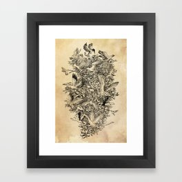Blooming Flight Framed Art Print