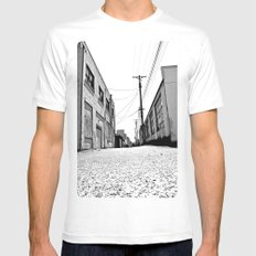 South Tacoma Alley MEDIUM Mens Fitted Tee White