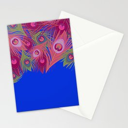 Maximal Feathers Stationery Cards