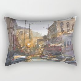 Urban Street Rectangular Pillow