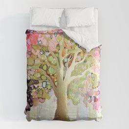 entrez dans la lumiere Comforters