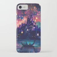 color iPhone & iPod Cases featuring The Lights by Alice X. Zhang