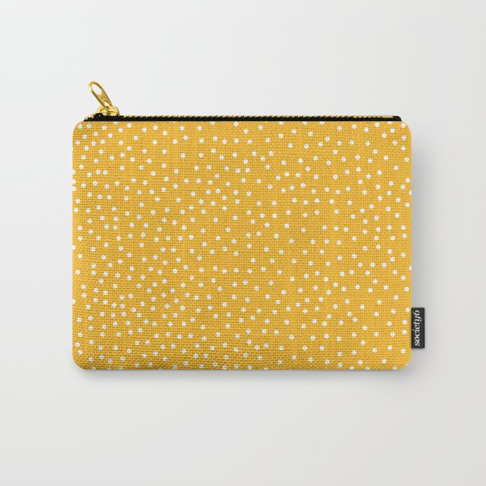 YELLOW DOTS Carry-All Pouch