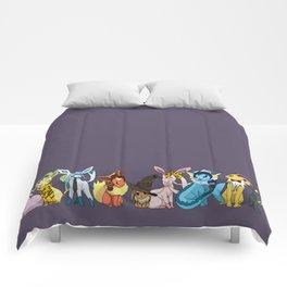 Eeveelutions Go To Hogwarts Comforters