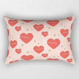 No Thx Rectangular Pillow