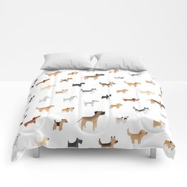 Lots of Cute Doggos Comforters