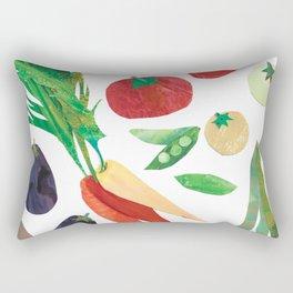 Love Your Veg Rectangular Pillow