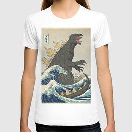 The Great Godzilla off Kanagawa T-shirt