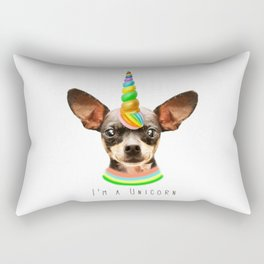 Little Unicorn Rectangular Pillow