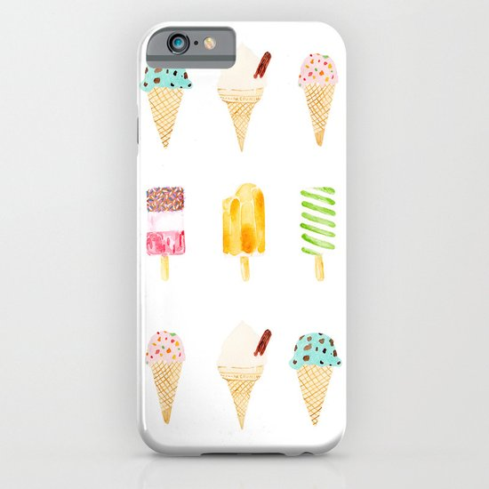 ice cream selection iPhone & iPod Case