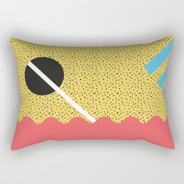 Memphis Style N°8 Rectangular Pillow