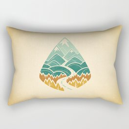 The Road Goes Ever On: Autumn Rectangular Pillow