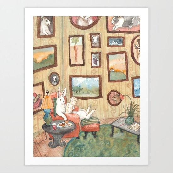 The Art Collector Art Print