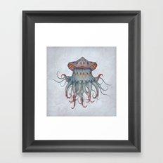 Hydrozoa Arcus Framed Art Print