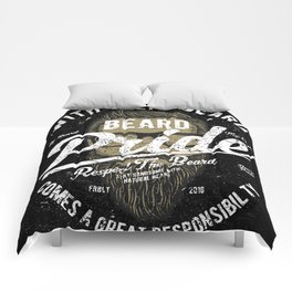 Beard Pride Comforters