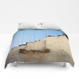 Crumbling Wall Comforters