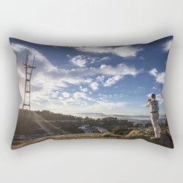 Photo Stance Rectangular Pillow