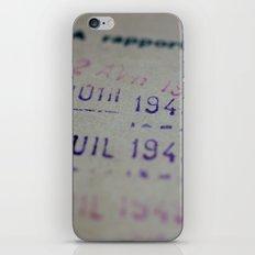 Due date iPhone & iPod Skin